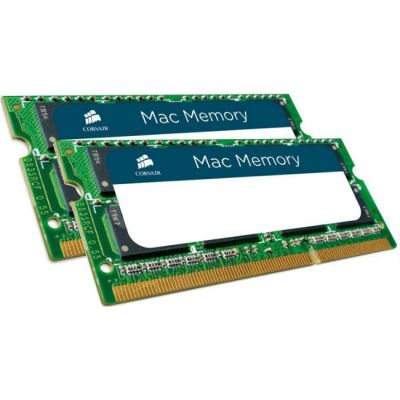 Оперативная память Corsair DDR3 1333 (PC 10600) SODIMM 204 pin, 2x8 Гб, 1.5 В, CL 9 CMSA16GX3M2A1333C9