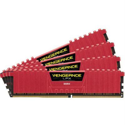 Оперативная память Corsair DDR4 4x8Gb 2666MHz RTL PC4-21300 CL16 DIMM 288-pin 1.2В CMK32GX4M4A2666C16R