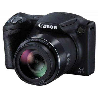 Компактный фотоаппарат Canon PowerShot SX410 IS (черный) 0107C002