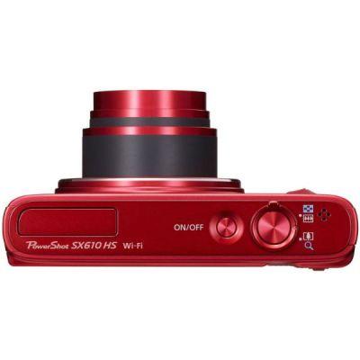 Компактный фотоаппарат Canon PowerShot SX610 HS (красный) 0113C002