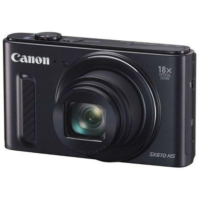 Компактный фотоаппарат Canon PowerShot SX610 HS (черный) 0111C002