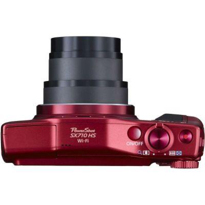 Компактный фотоаппарат Canon PowerShot SX710HS (красный) 0110C002