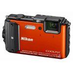 Компактный фотоаппарат Nikon CoolPix AW130 (оранжевый)