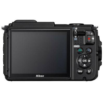 Компактный фотоаппарат Nikon CoolPix AW130 (черный)