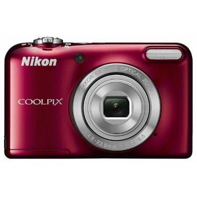 Компактный фотоаппарат Nikon CoolPix L31 (красный) VNA872E1