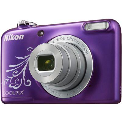 Компактный фотоаппарат Nikon CoolPix L31 (фиолетовый) VNA873E1