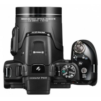 Компактный фотоаппарат Nikon CoolPix P610 (черный) VNA760E1
