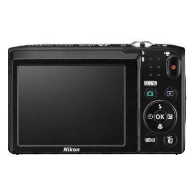 Компактный фотоаппарат Nikon CoolPix S2900 (черный) VNA831E1