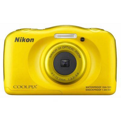 Компактный фотоаппарат Nikon CoolPix S33 VNA853KR01