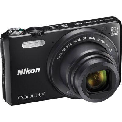 Компактный фотоаппарат Nikon CoolPix S7000 (черный) VNA800E1