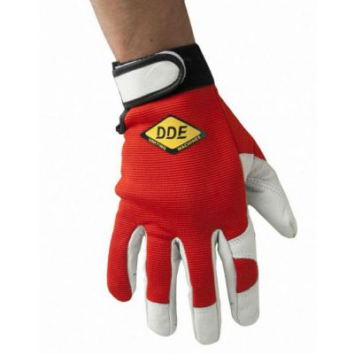 DDE Перчатки СOMFORT кожа /спандекс, размер XL 648-472