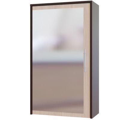 Зеркало Сокол ПЗ-5 с местом для хранения на стену (венге-беленый дуб)