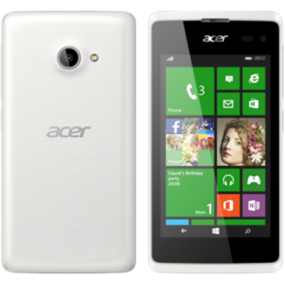 Смартфон Acer Liquid M220 3G White HM.HMHEU.001