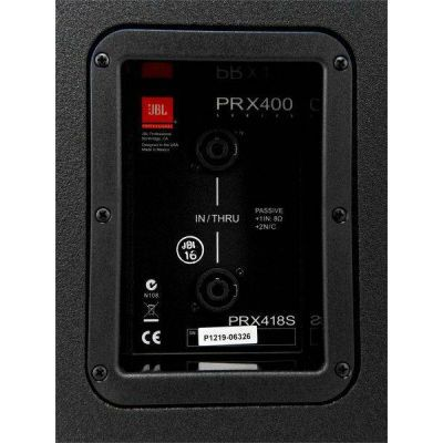 Сабвуфер JBL PRX418S (пассивный)