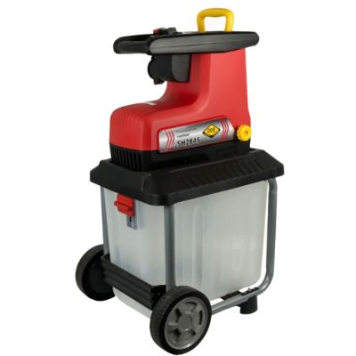 DDE Садовый измельчитель SH2845 (2820 Вт, 3650 об/мин, ветки макс. сеч. до 45 мм, колёса, сборник 60 л, 30 кг)