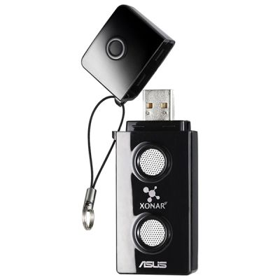 Звуковая карта ASUS USB Xonar U3 (C-Media CM6400 Nitrogen D2) 2.1 (5.1 digital S/PDIF out Dolby Digital Live) 803513