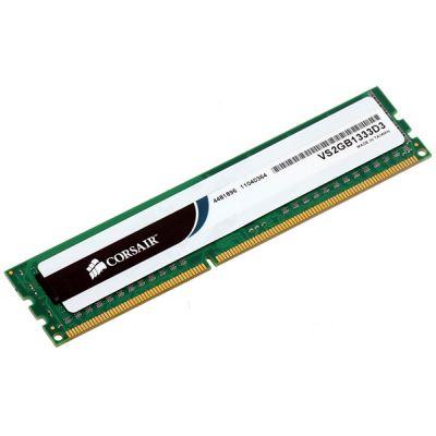 Оперативная память Corsair DDR3 2Gb 1333MHz PC3-10600 VS2GB1333D3
