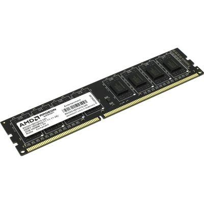 ����������� ������ AMD DDR3 4Gb 1600MHz PC3-12800 R534G1601U1S-UO/2S-UO