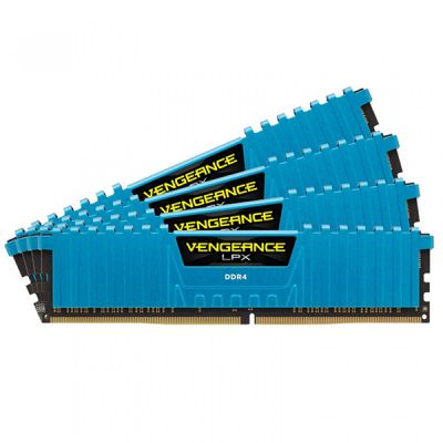 Оперативная память Corsair 16Gb DDR4 2800MHz PC4-23000C16 CMK16GX4M4A2800C16B