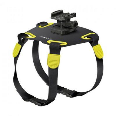 Sony Крепление для собак Dog Mount для камер Sony черное/желтое AKA-DM1 4905524938821