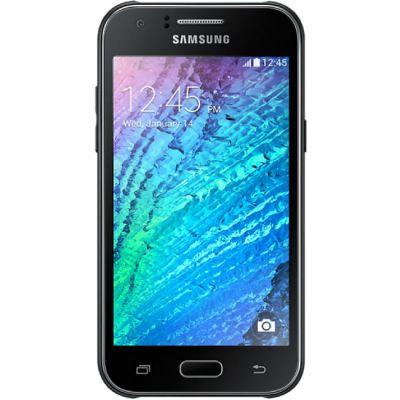 Смартфон Samsung Galaxy J1 SM-J100F 3G 4G Black SM-J100FZKNSER
