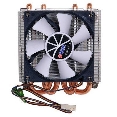 Кулер для процессора Titan Soc-AMD/775/1366/1150/1155/1156/ 4pin 35dB Al+Cu 130W 450g винты TTC-NC25TZ/PW(RB)