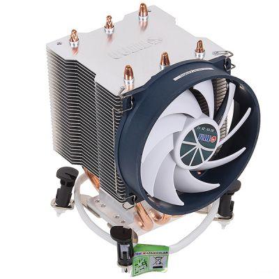 Кулер для процессора Titan Soc-1155/AM3+/FM1/FM2 4pin 10-27dB AlCu 140W 540g клипсы TTC-NK35TZ/RPW(KU)
