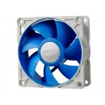 Вентилятор Deepcool для корпуса UF 80 80x80x25 4pin 18-23dB 900-2200rpm 111g UF-FAN80