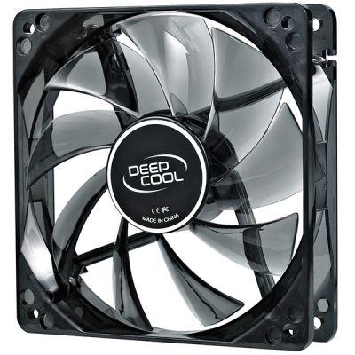 ���������� Deepcool ��� ������� 120x120x25 3pin 27dB 1300rpm 119g ������� LED WINDBLADE120