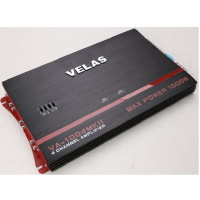 Усилитель автомобильный Velas 4-канальный VA-1004 MKII