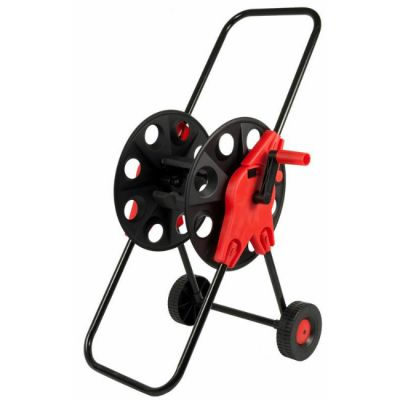 "Quattro Elementi 772-203 Катушка для садового шланга малая с колесами (шланг 1/2"" - до 45 м, 3/4"" - 30 м)"