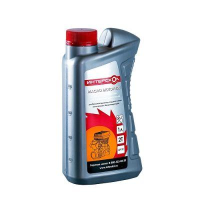 Интерскол Масло 2-х тактное 1л полусинтетика 2600 004