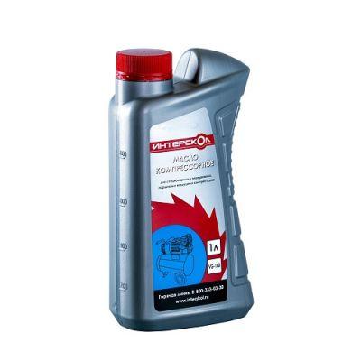 Интерскол Масло 1л минеральное для воздушных компрессоров КМ100 Стандарт 2600 010