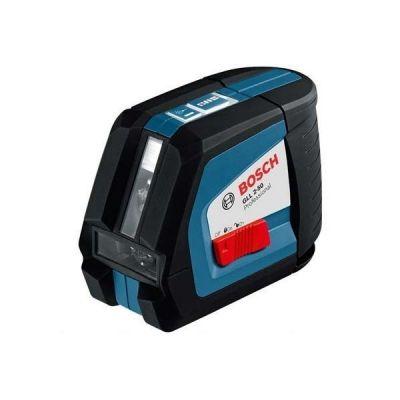 Нивелир Bosch лазерный линейный GLL 2-50 + штатив BS150 + вкладка под L-Boxx (линейн, 2плоск, 50м, точн.0,3мм/м, 0,45 кг, чехол) 0601063105