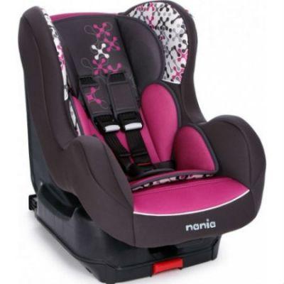 Детское автокресло Nania Cosmo SP LX ISOFIX (corail petrole) от 0 до 18 кг (0+/1) Isofix фиолетовый 93205