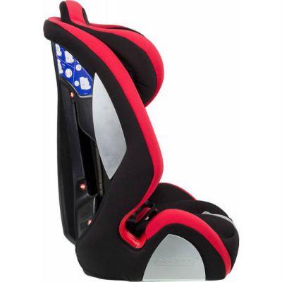 Детское автокресло Sparco F 1000 K от 9 до 36 кг (1/2/3) черный/красный SPC/DK-350 BK/RD