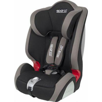 Детское автокресло Sparco F 1000 K от 9 до 36 кг (1/2/3) черный/серый SPC/DK-350 BK/GY