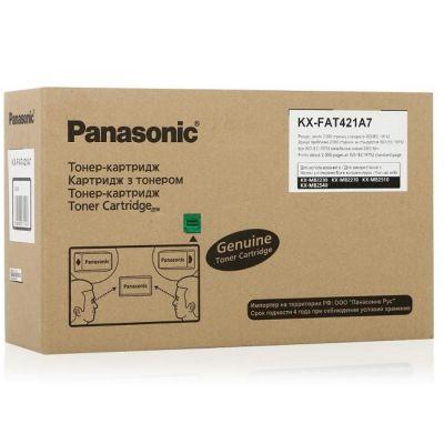 Тонер Panasonic Black/черный (KX-FAT421A7)
