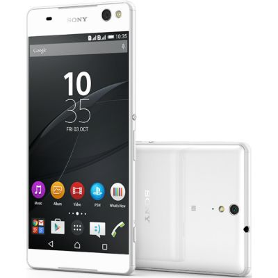 Смартфон Sony Xperia C5 Ultra dual E5533White 1296-9309