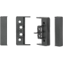 Intro Рамка для установки автомагнитолы AUDI A6 97-04 1 din (бок вставки) RAU6-D04