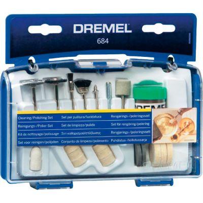 Dremel Набор насадок для гравера 684, для чистки 20шт 26150684JA