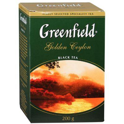 Чай Greenfield Голден Цейлон 200г. чай лист.черн. 0791-14
