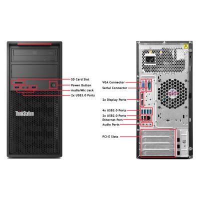 Настольный компьютер Lenovo ThinkStation P300 TWR 30AH0053RU