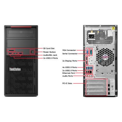 Настольный компьютер Lenovo ThinkStation P300 TWR 30AH0045RU