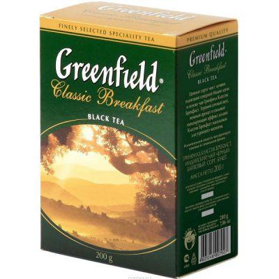 Чай Greenfield Классик Брекфаст 200г. чай лист.черн. 0792-14