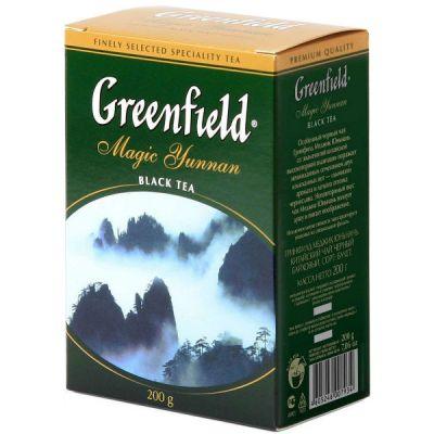 Чай Greenfield Меджик Юньнань 200г. чай лист.черн. 0793-14