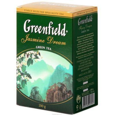 Чай Greenfield Жасмин Дрим 200г. чай лист.зел.аром. 0797-14