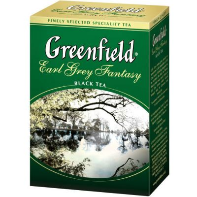 Чай Greenfield Эрл Грей Фэнтази 100г. чай лист.черн.с доб. 0426-14