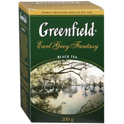 Чай Greenfield Эрл Грей Фэнтази 200г. чай лист.черн.с доб. 0794-14
