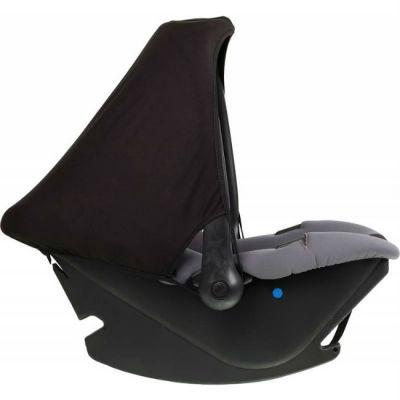 Детское автокресло Nania Baby Ride ECO (rock) от 0 до 13 кг (0/0+) серый/черный 373120
